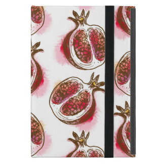 Pattern with pomegranate iPad mini covers