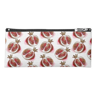 Pattern with pomegranate pencil case