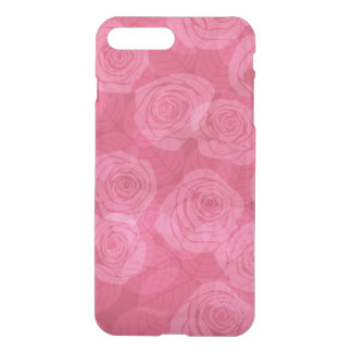 Pattern with roses iPhone 7 plus case