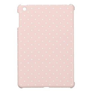 Pattern with white polka dots 2 iPad mini case