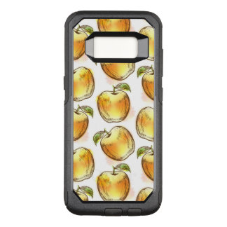 Pattern with yellow OtterBox commuter samsung galaxy s8 case