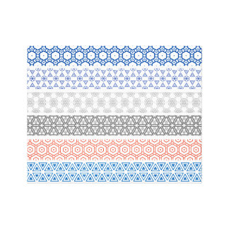 Pattern Wrapped Canvas! Canvas Prints