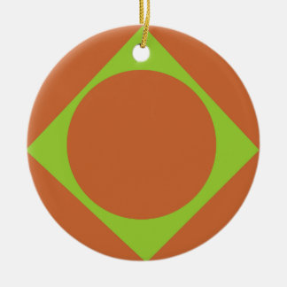 pattern-zazzle-8 round ceramic ornament