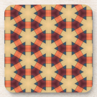 Patterned coaster