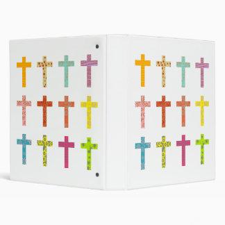 Patterned Crosses Binder