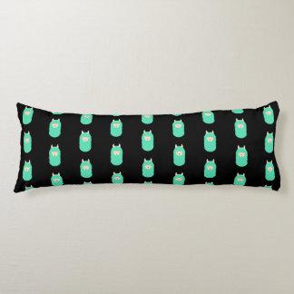 Patterned Emoji Happy Llama Body Pillow
