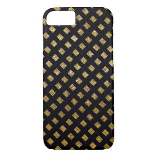 patterned gold-color on black Case-Mate iPhone case