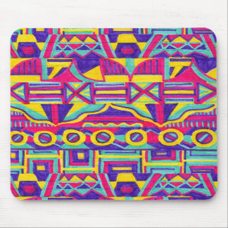 patterned mouse pad