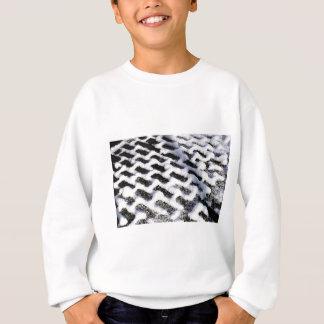 patterned walkway sweatshirt