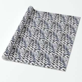 patterned walkway wrapping paper