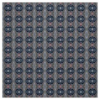 Patternized Male Downy Woodpecker Fabric