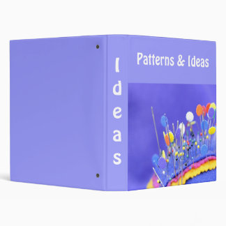 Patterns and ideas binder
