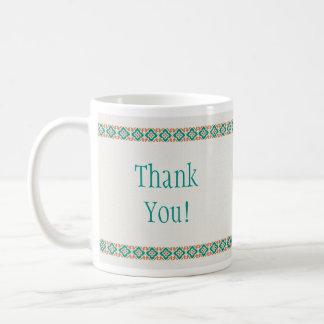 Patterns & Borders 3 Thank You Mug