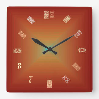 Patterns For Numbers> Artistic Clocks