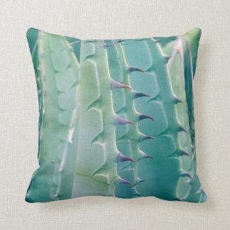 Patterns of an Agave plant Throw Pillow