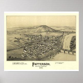 Patterson, Juniata County, Pennsylvania Poster