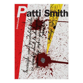 Patti Smith Calligraphy 2 POSTER