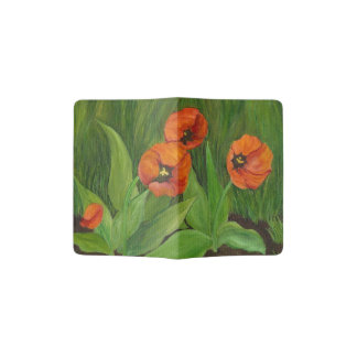 Patti's Tulips Passport Holder