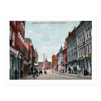 Patton Ave., Asheville, North Carolina Vintage Postcard