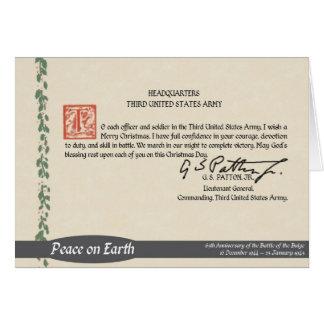 Patton Christmas Card