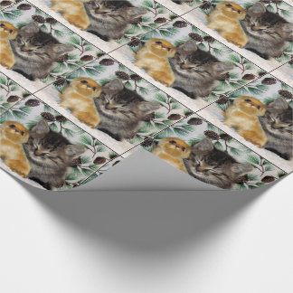 Patton's Peaceful Christmas Wrapping Paper