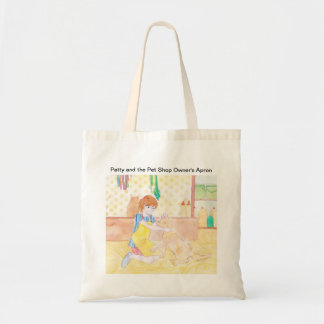 Patty and the Pet Shop Owners Apron Tote Bag
