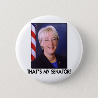 Patty Murray, That's My Senator! 2 Inch Round Button