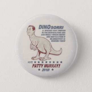 Patty Murray v Dino Sorri 2 Inch Round Button