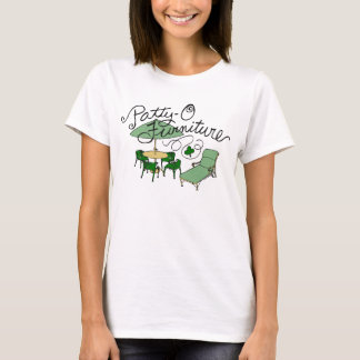 Patty-O Furniture, Funny St. Patrick's Day Pun T-Shirt