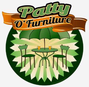 Patty O'Furniture, Funny St. Patrick's Day Pun ...