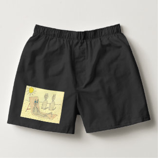 Patty The Black Cat Goes To Monte Carlo Men Boxers