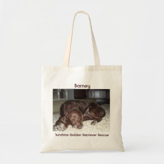 Patty's Barney Shopping Bag - Sunshine Goldens