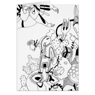 Patung (Squash Kachina) and Turtle Card