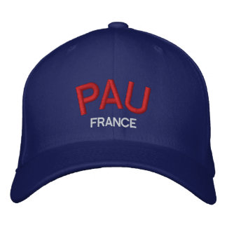 Pau France Personalized Adjustable Hat