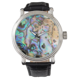 Paua abalone beautiful kiwiana shell wrist watches