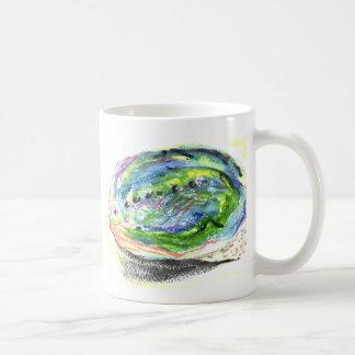 Paua - abalone shell designs coffee mug
