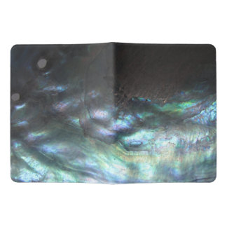 Paua ripple  Black Abalone   New Zealand Shell Extra Large Moleskine Notebook