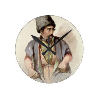 Paul - A Georgian from Tiflis, 1852 Clock