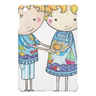 Paul and Gabi twins iPad Mini Covers