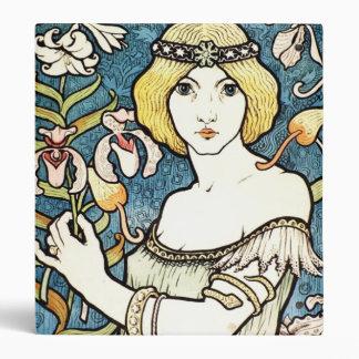 Paul Berthon Salon Des Cent French Art Nouveau Binder