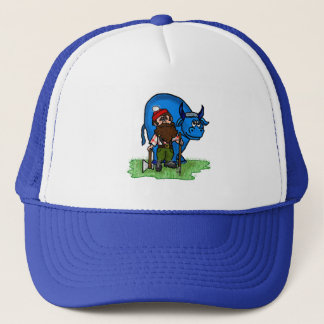 Paul Bunyan and Babe Blue Ox Cap
