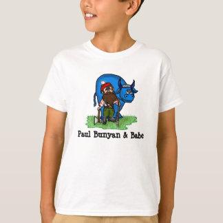 Paul Bunyan and Babe Kid's T-shirt