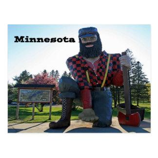 Paul Bunyan Minnesota Sourvenir Postcard