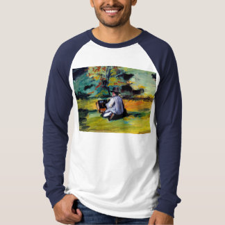 Paul Cezanne A Painter at Work impressionist art T-Shirt