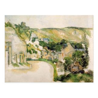 Paul Cezanne-A Turn in the Road at La Roche-Guyon Postcard