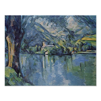 Paul Cezanne - Annecy Lake Poster