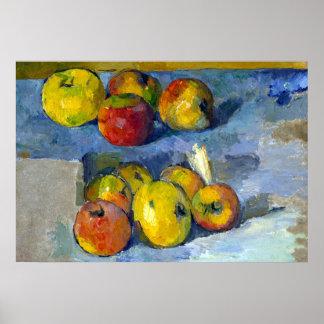 Paul Cezanne Apples Poster
