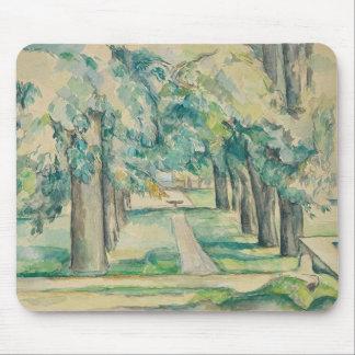 Paul Cezanne - Avenue of Chestnut Trees Mouse Pad