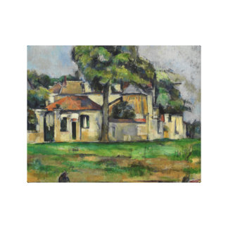 Paul Cezanne - Banks of the Marne Canvas Print