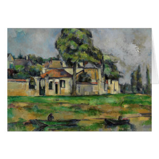 Paul Cezanne - Banks of the Marne Card